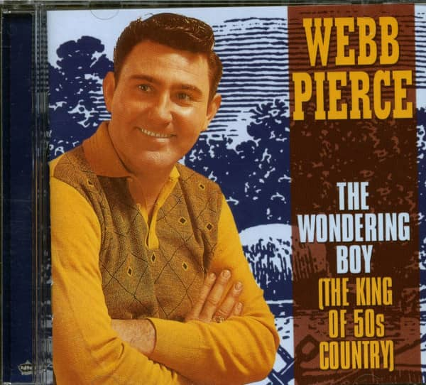 The Wondering Boy - The King Of 50s Country (CD)