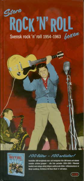 Svensk Rock'n'Roll 1954-1963 - Stora Rock'n'Roll Boxen (4-CD)
