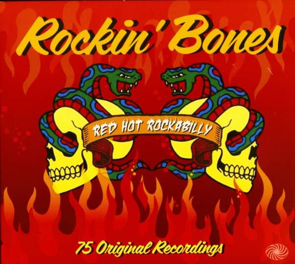 Rockin' Bones - Red Hot Rockabilly (3-CD)