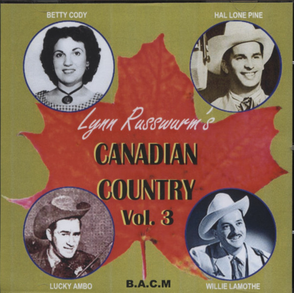 Vol.3, Canadian Country