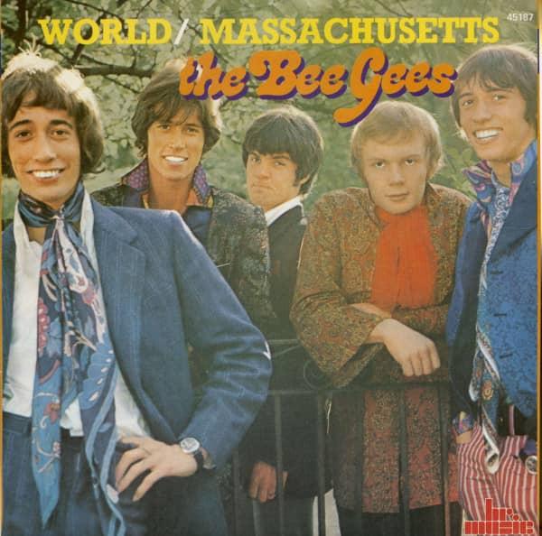 World - Massachusetts (7inch, 45rpm, BC, PS)