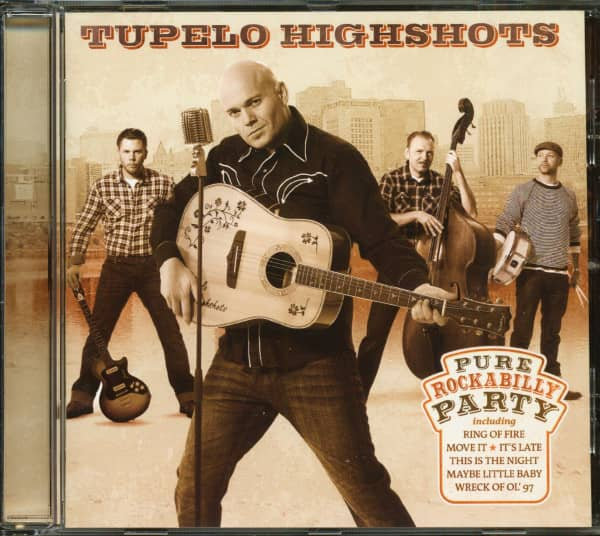 Pure Rockabilly Party (CD)