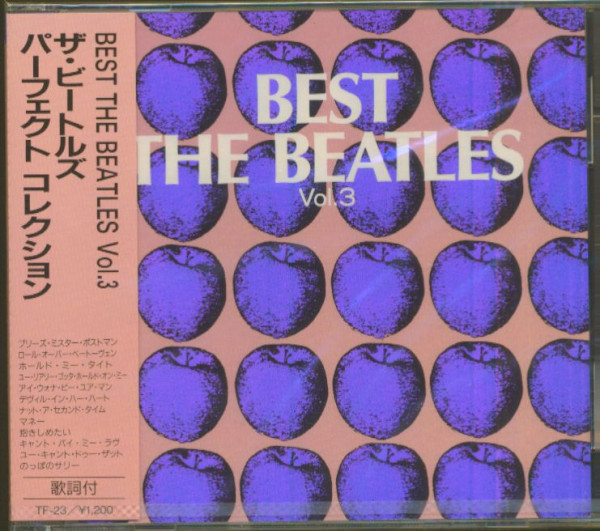 Best - The Beatles, Vol.3 (CD, Japan)