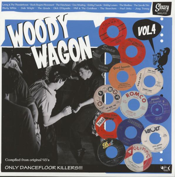 Woody Wagon, Vol.4 (LP)