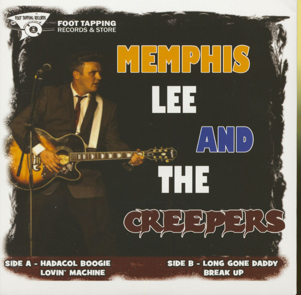 Memphis Lee & The Creepers (45rpm, EP, PS)