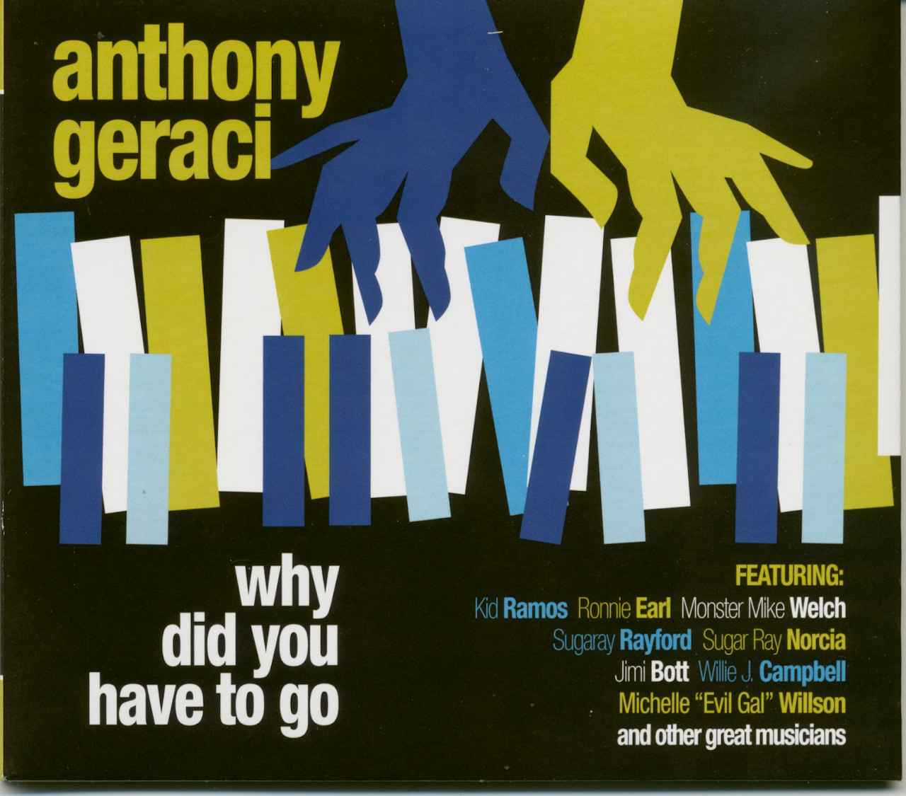 Anthony Geraci - Why Did You Have To Go (CD)