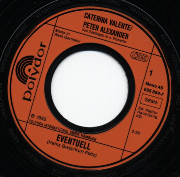 Eventuell - Sing Baby, sing 7inch, 45rpm, PS