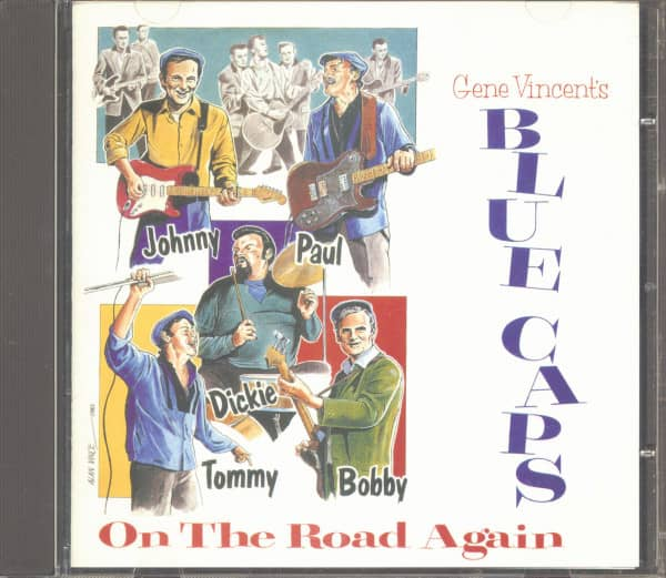 Gene Vincent's Blue Caps On The Road Again (CD)
