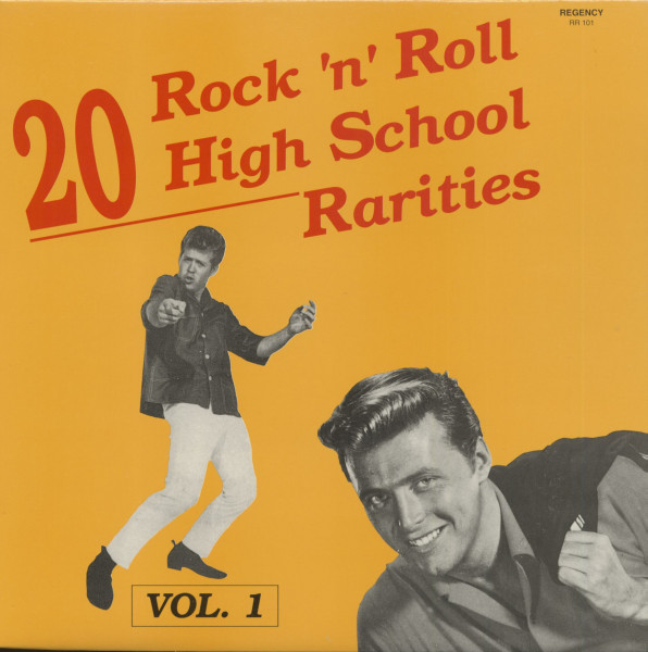 20 Rock & Roll High School Hits Rarities Vol.1 (LP)