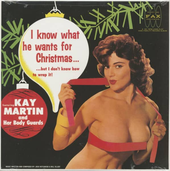I Know What He Wants For Christmas ... (LP, 180g Vinyl)