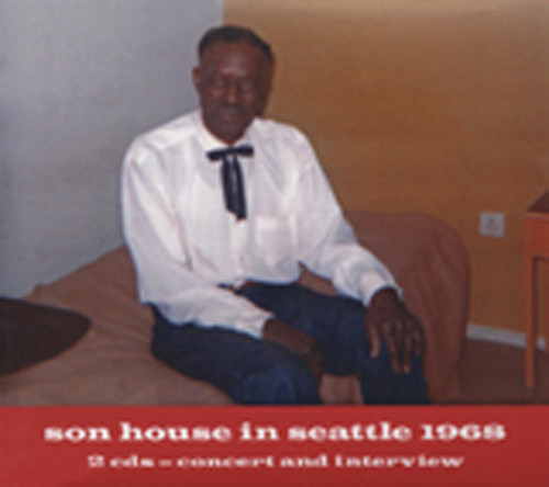 Son House In Seattle 1968 (2-CD)