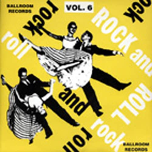 Vol.6, Ballroom Rock & Roll 7inch, 45rpm, EP, PS
