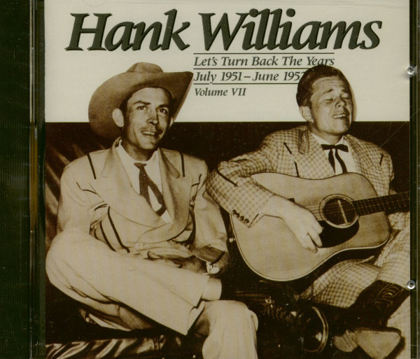 Let's Turn Back The Years - Complete Hank Williams Vol.7 (CD)