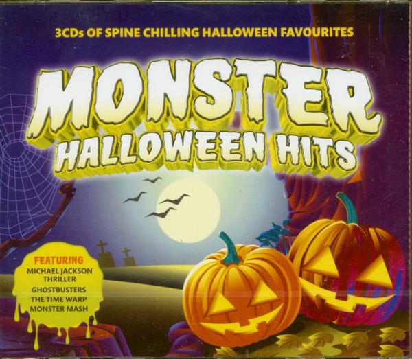 Monster Halloween Hits (3-CD)