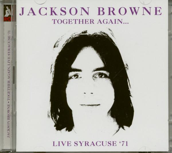 Together Again - Live Syracuse '71 (2-CD)