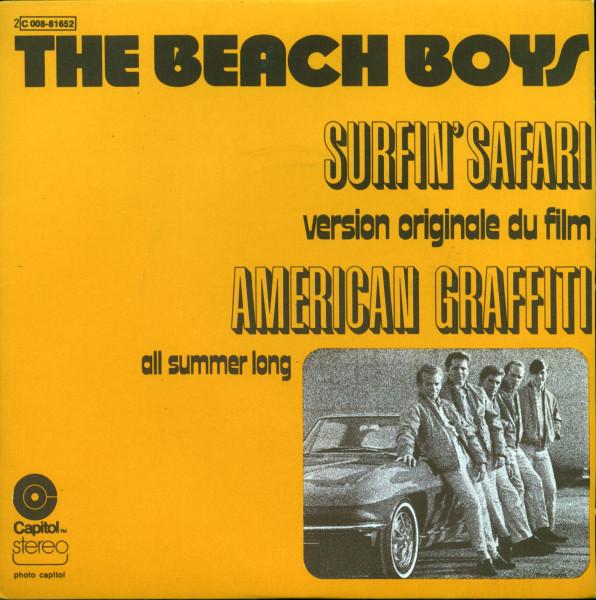 Surfin' Safari - Soundtrack American Graffiti (7inch, 45rpm, PS)