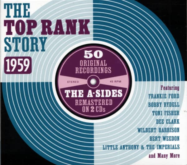The Top Rank Story - The A-Sides 1959 (2-CD)