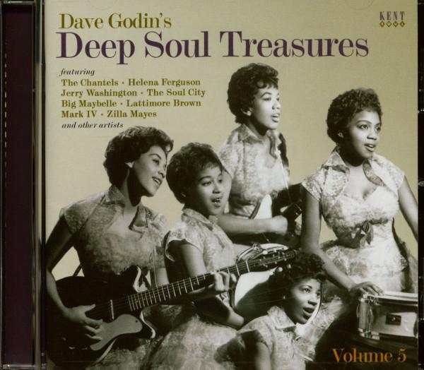 Dave Godin's Deep Soul Treasures Vol.5 (CD)