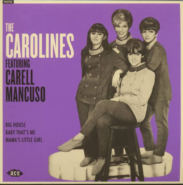 The Carolines Featuring Carell Mancuso (7inch, EP, 45rpm, PS, SC)
