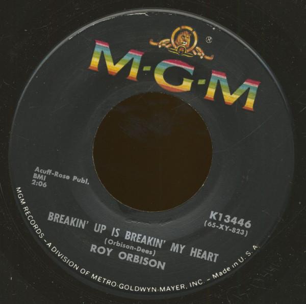 Breakin' Up Is Breakin' My Heart - Wait (7inch, 45rpm, BC)