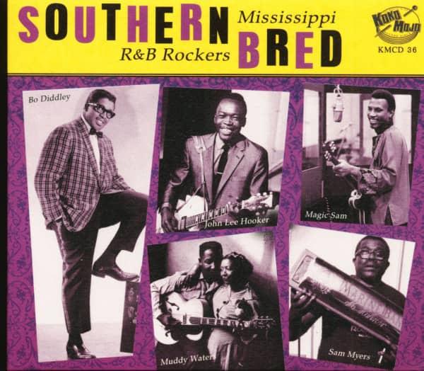 Southern Bred Vol.3 - Mississippi R&B Rockers (CD)