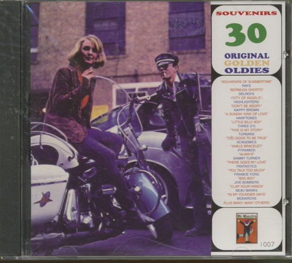 Souvenirs - 30 Original Golden Oldies (CD)