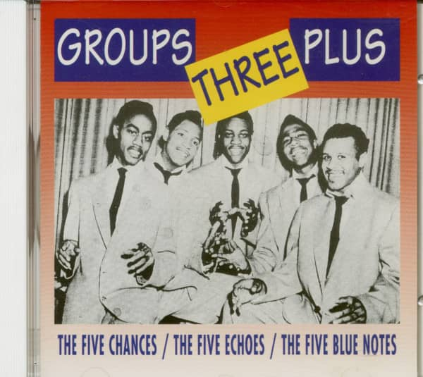 Groups Three Plus (CD)