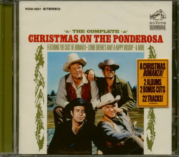 The Complete Christmas On The Ponderosa (CD)