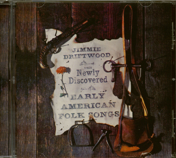 Sings Newly Discovered Early American Folk Songs - The Wilderness Road (CD)