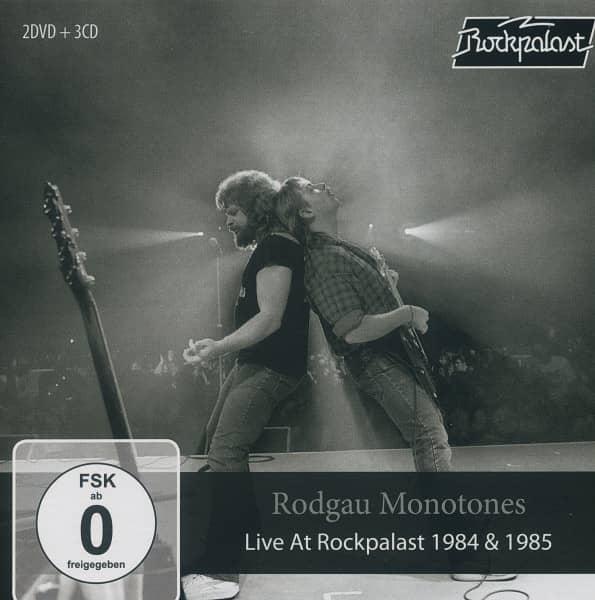 Live At Rockpalast 1984 & 1985 (2-DVD & 3-CD)