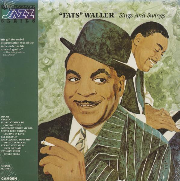 Fats Waller Sings And Swings - Quintessence Jazz Series (LP)