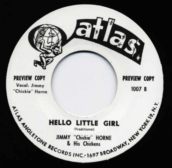 Hello Little Girl - Talking About You 7inch, 45rpm