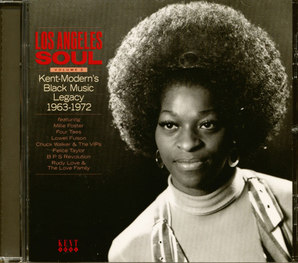 Los Angeles Soul Vol.2 - Kent-Modern's Black Music Legacy 1963-1972 (CD)