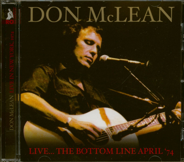 Live In New York - The Bottom Line April 1974 (CD)
