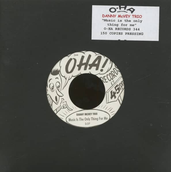 Music Is The Only Thing For Me (7inch, 45rpm, Ltd.)