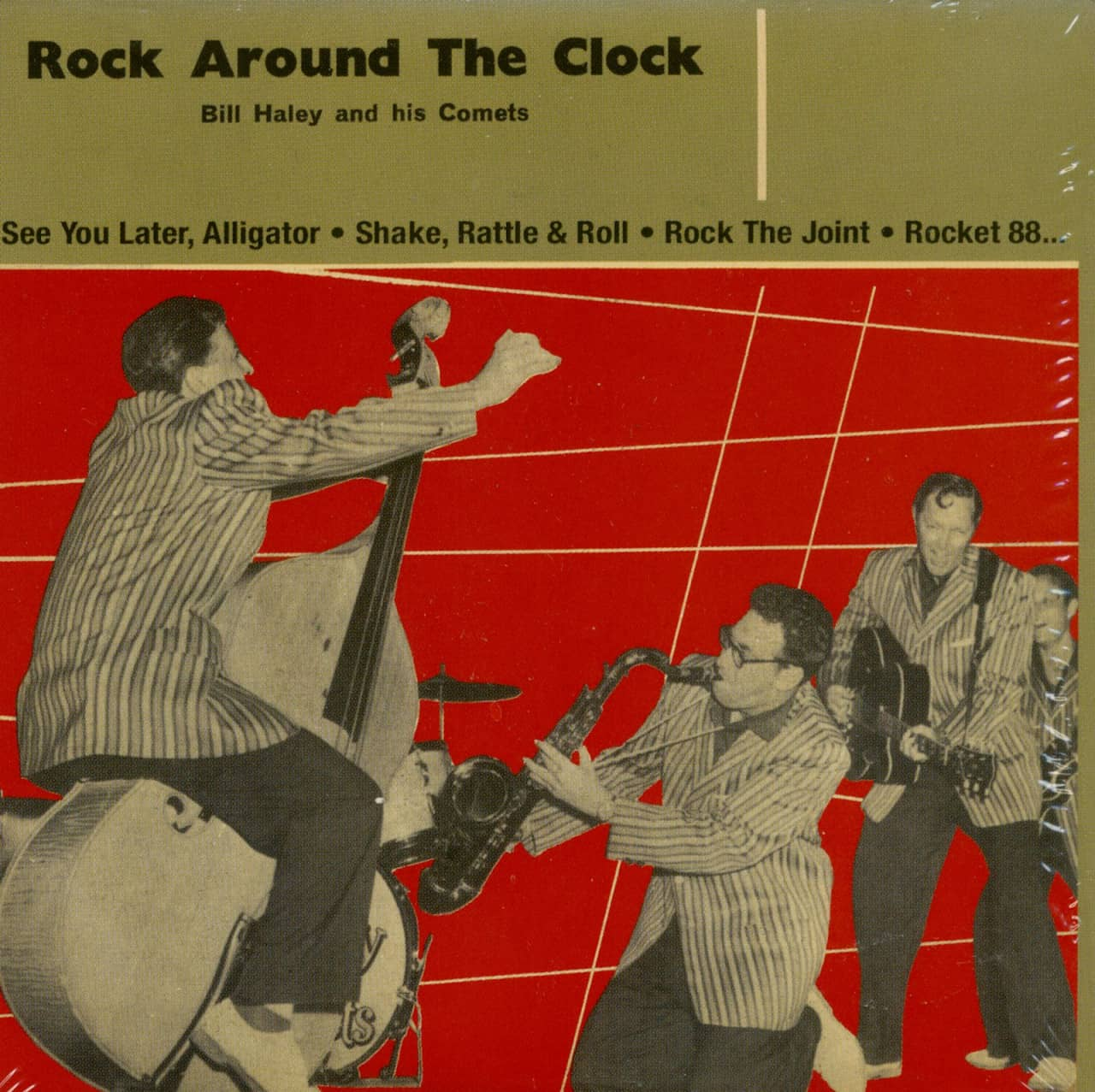 Bill Haley & His Comets - Rock Around The Clock - Papersleeve