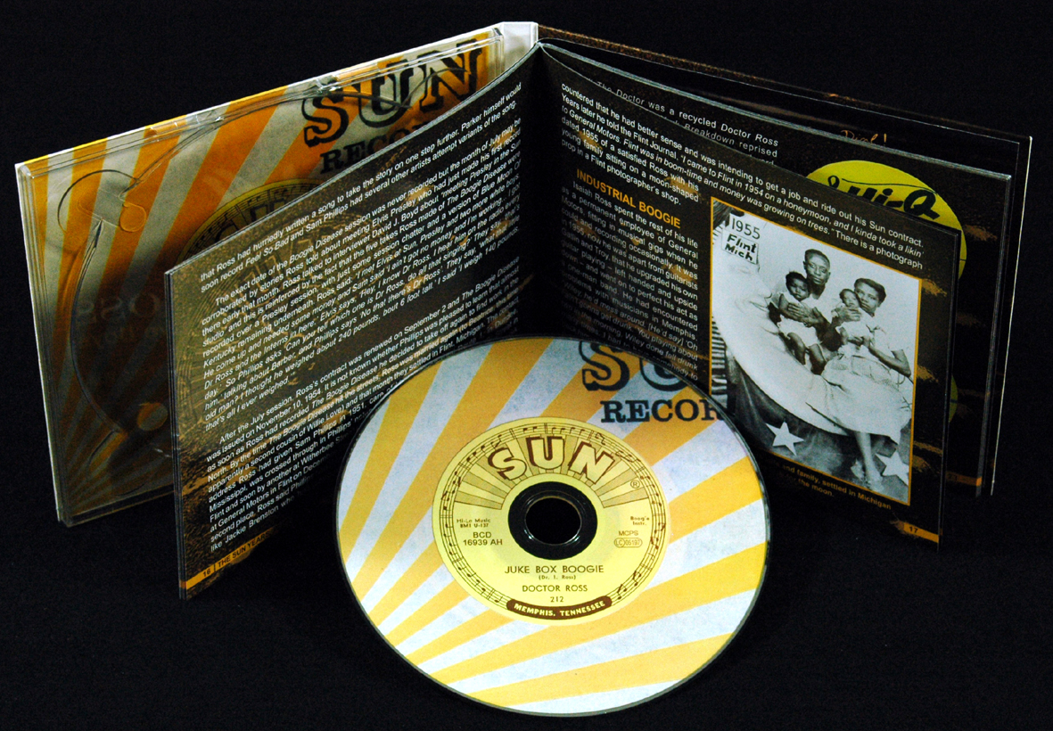 Doctor Ross CD Juke Box Boogie The Sun Years Plus Bear Family