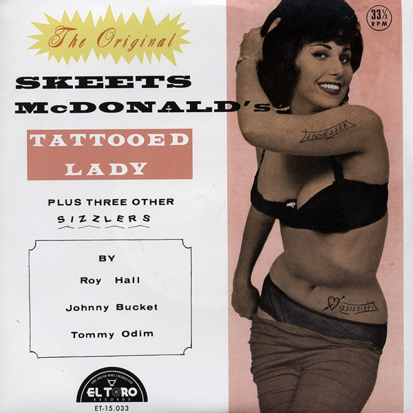 Tattooed Lady 7inch, 45rpm, EP, PS, SC
