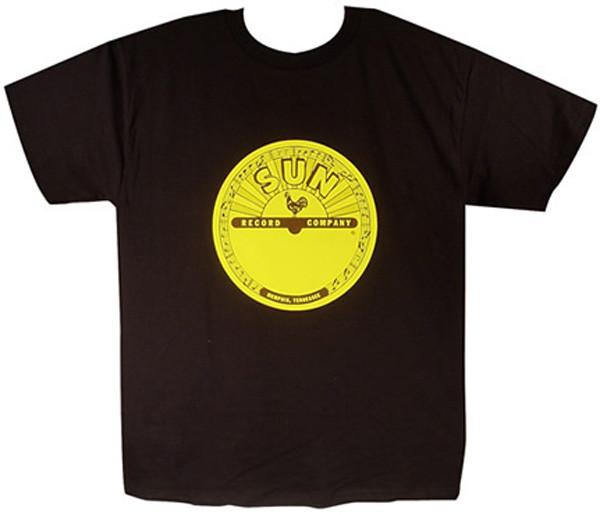Sun Logo Shirt (S) black - schwarz