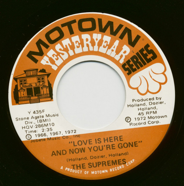 You Keep Me Hangin' On - Love Is Here And Now You´re Gone (7inch, 45rpm)