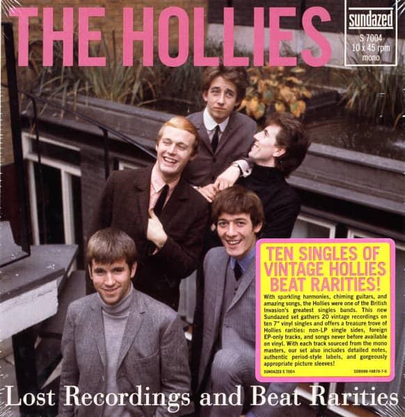 Lost Recordings & Beat Rarities 10x7inch, 45rpm BOX