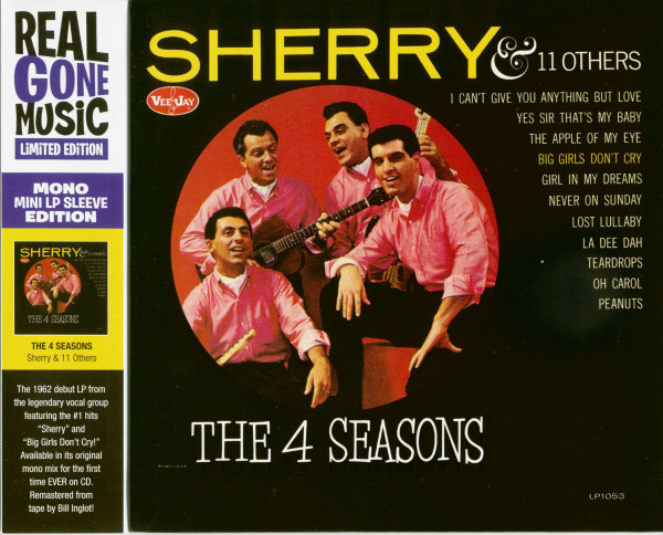 Sherry & 11 Others (CD, Cardboard Sleeve, Ltd.)