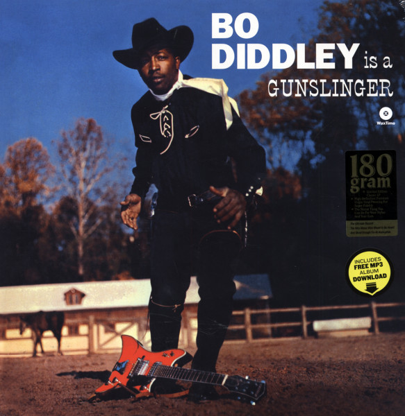 Bo Diddley Is A Gunslinger (1961) Limited Edition (180g)