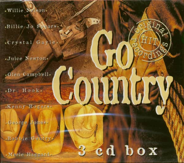 Go Country (3-CD)