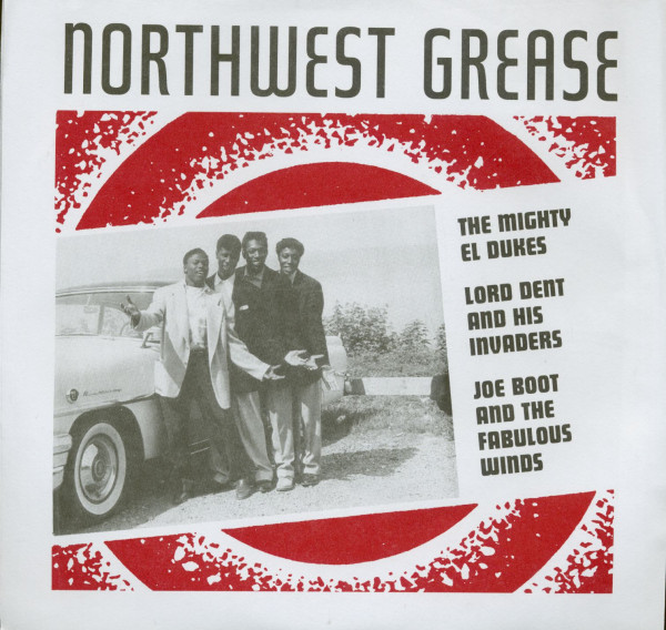 Northwest Grease (7inch EP, 45rpm, PS, Colored Vinyl)