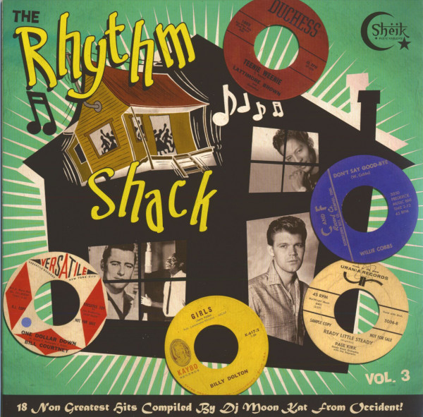 The Rhythm Shack Vol.3 (180g Vinyl)