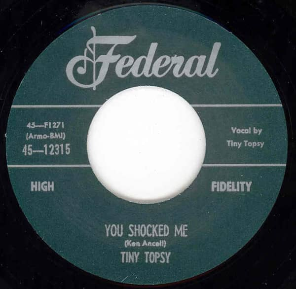 Miss You So b-w You Shocked Me 7inch, 45rpm
