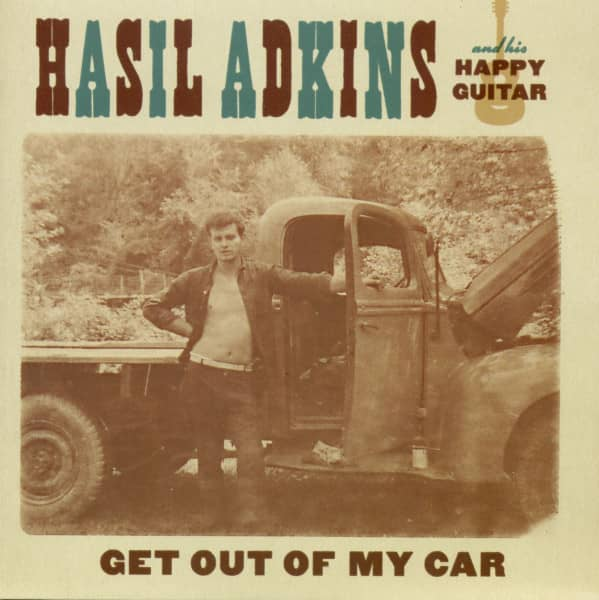 Get Out Of My Car - Shake That Thing (7inch, 45rpm, PS)