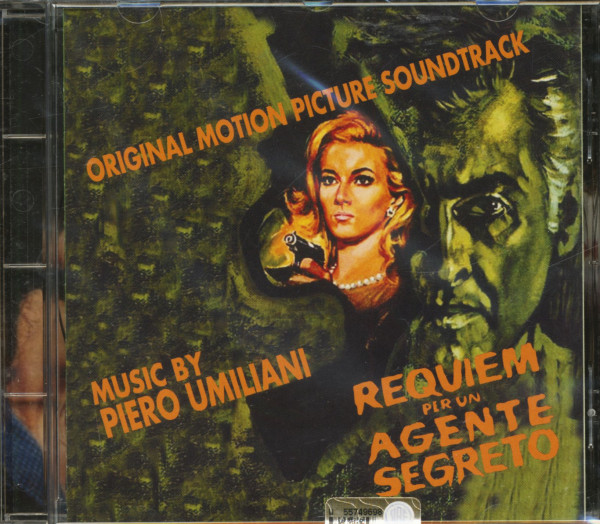 Requiem Per Un Agente Segreto - Original Motion Picture Soundtrack (CD)