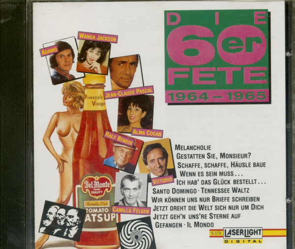 Die 60er Fete 1964-65 (CD)